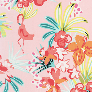 Flamingo Floral
