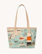 Northeastern Harbors Embroidered Tote