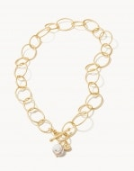 Oval Chain Toggle Necklace