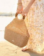 Sienna Woven Tote