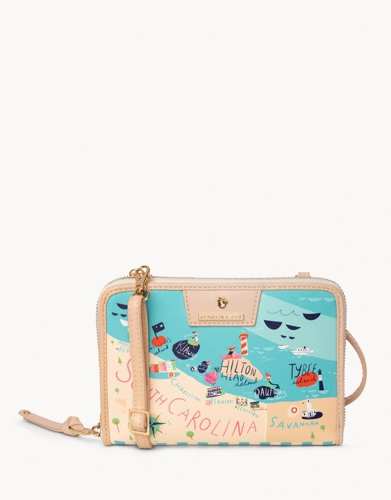 Sea Islands All-in-One Phone Crossbody