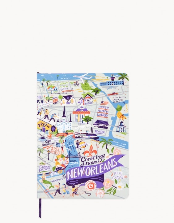 New Orleans Ruled Notebook