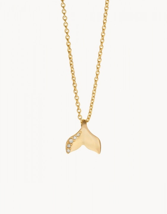 Sea La Vie Mermaid Tail Necklace