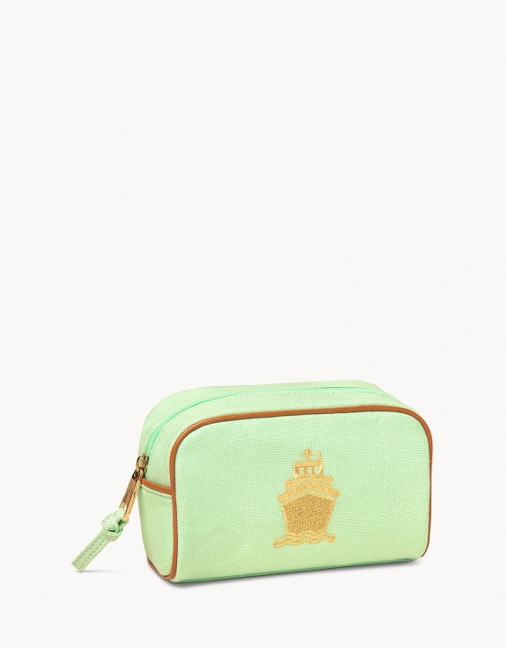 Embroidered Travel Pouch