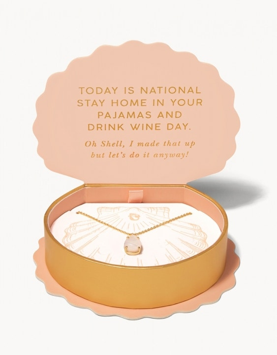 Oh Shell Wine Day Necklace