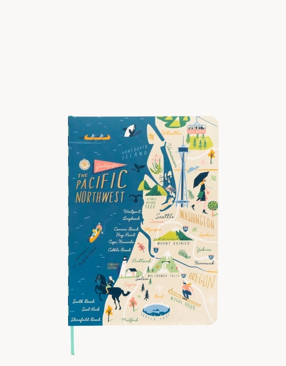 Pacific Northwest Ruled Notebook
