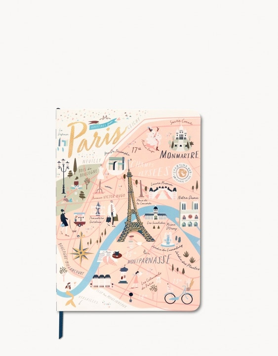 Paris Ruled Notebook