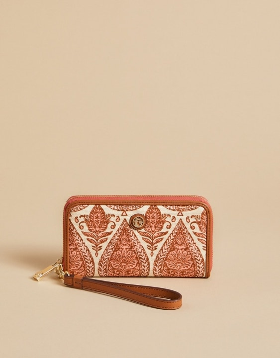 Pink House 449 wallet