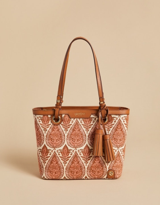 Pink House Island Tote