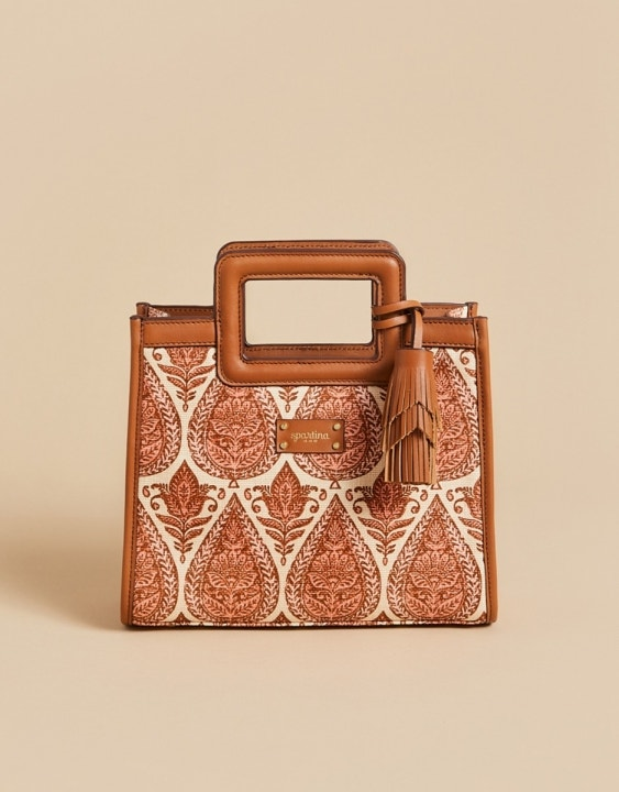 Pink House Reed Crossbody