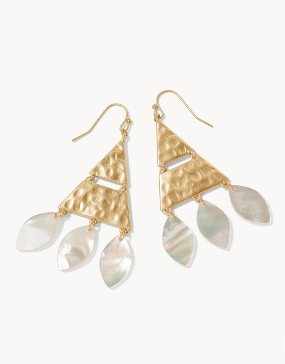 Sweetspire Triangle Earrings