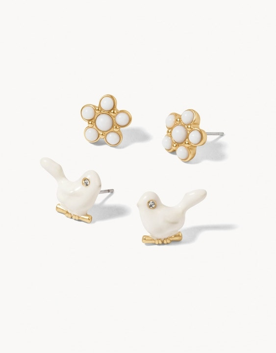 Songbird Stud Earrings Set