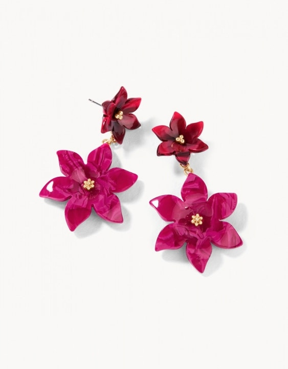 Resort Flower Earrings