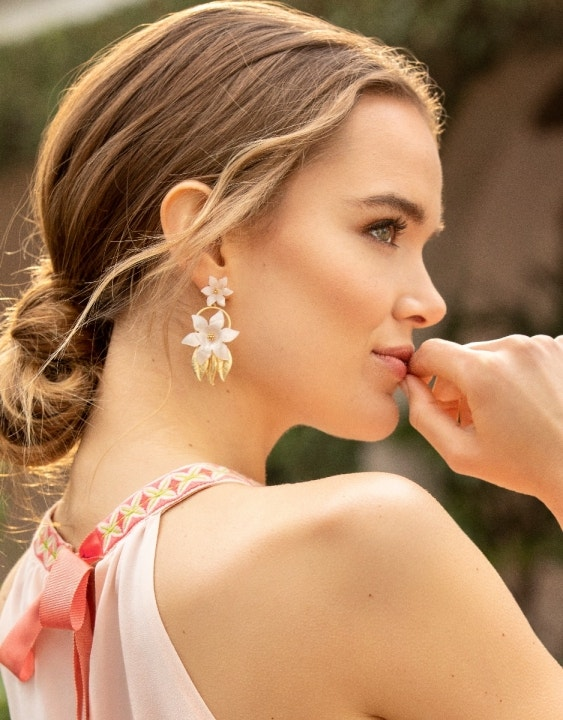 Oldfield Flower Earrings