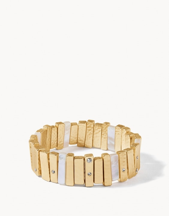 Picket Fences Stretch Bracelet