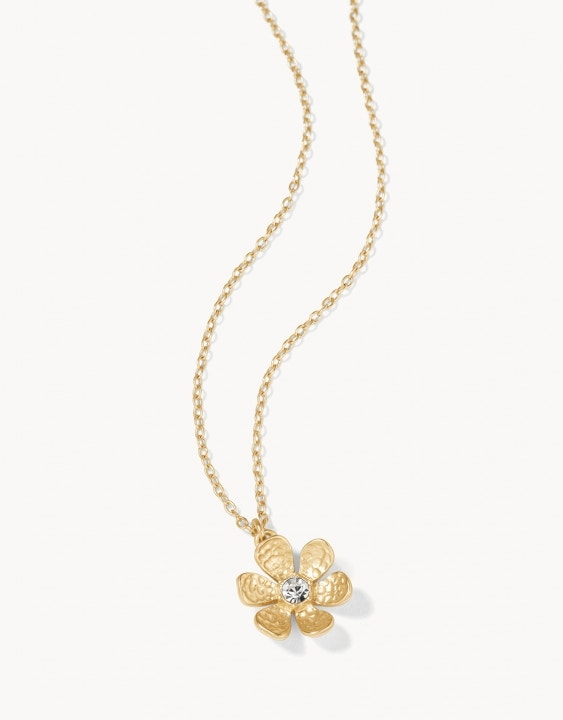 Garden Flower Petite Necklace