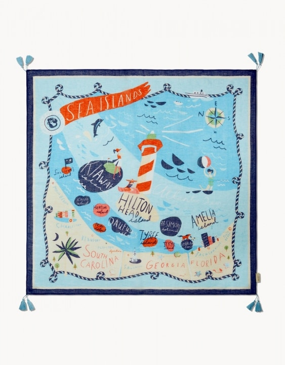 Sea Islands Scarf