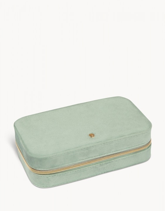 Velvet Jewelry Travel Case Large
