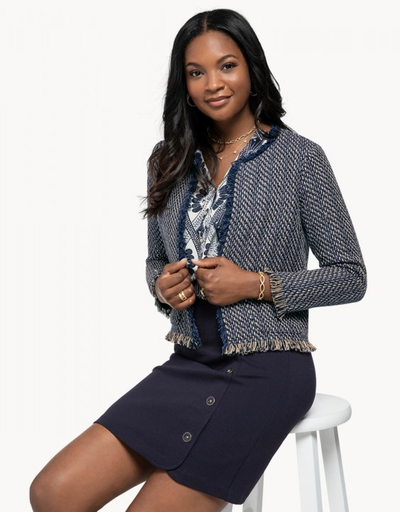 Lettie Tweed Jacket