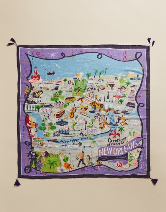 New Orleans Square Scarf
