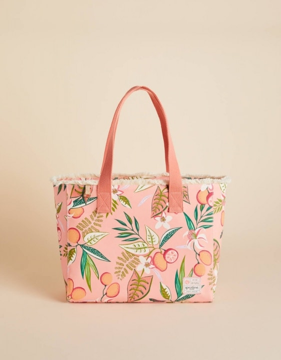 Pink Lemonade Beach Tote
