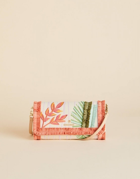 Tropical Lara Trio Crossbody Clutch