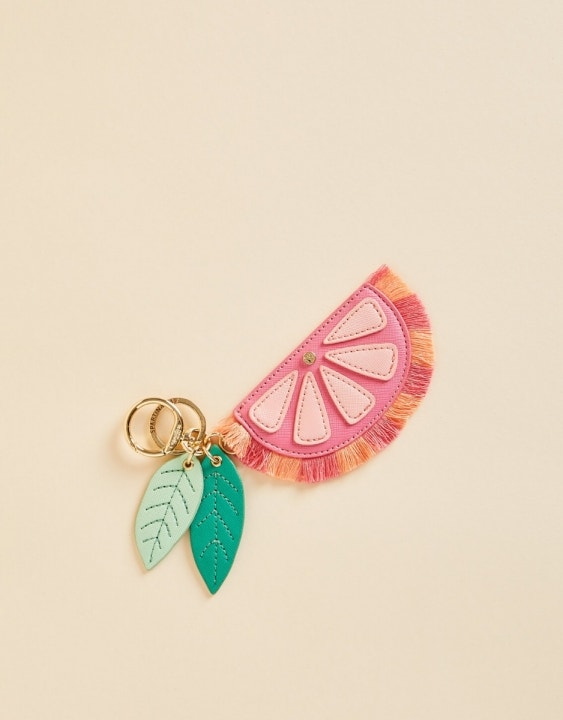 Pink Lemonade Icon Keychain
