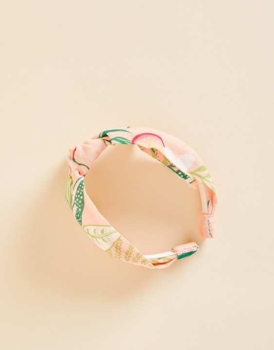 Knot Headband Pink Lemonade
