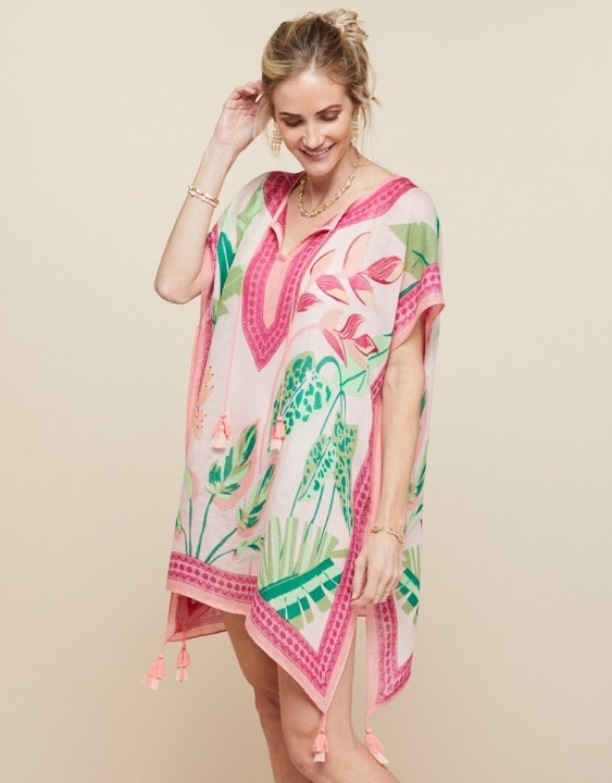 Kaftan Tropic Flamingo