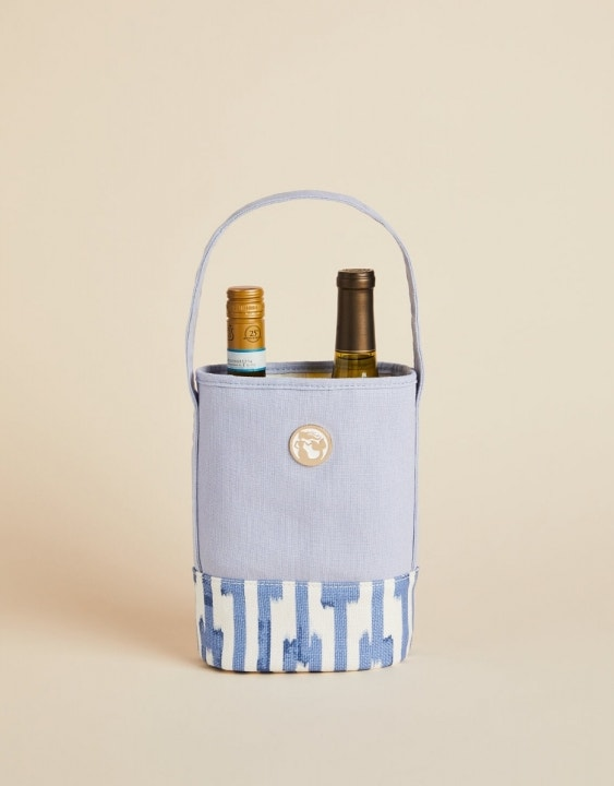 Oyster Alley Double Wine Caddy