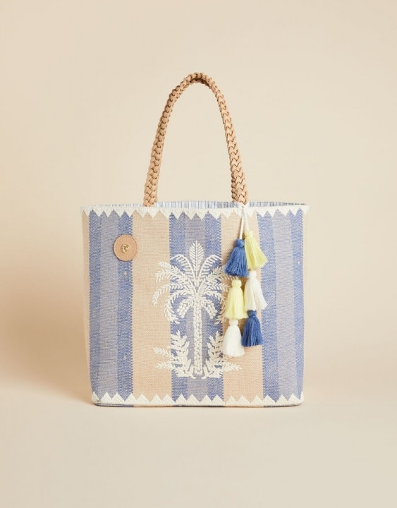 Oyster Alley Palm Beach Tote