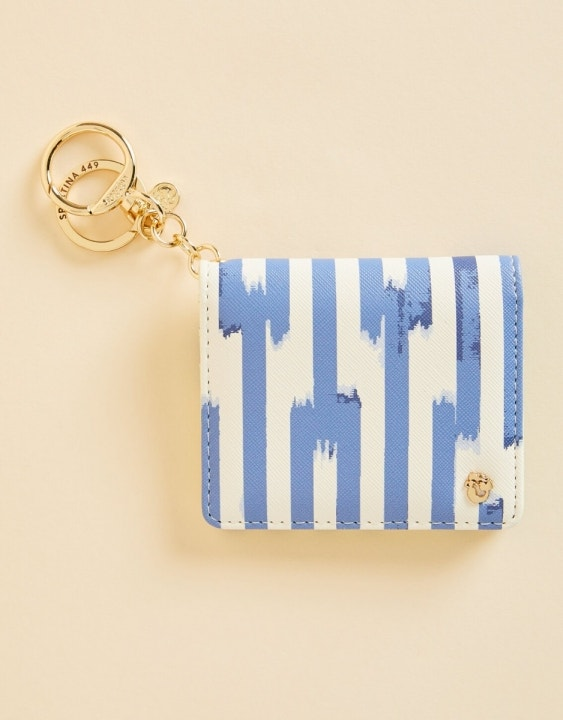 Oyster Alley Card Keychain