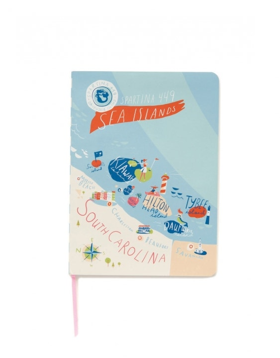 Sea Islands Ruled Notebook