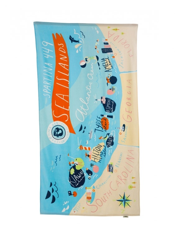 Sea Islands Beach Towel