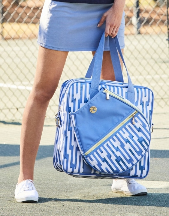 Oyster Alley Tennis Crossbody Tote