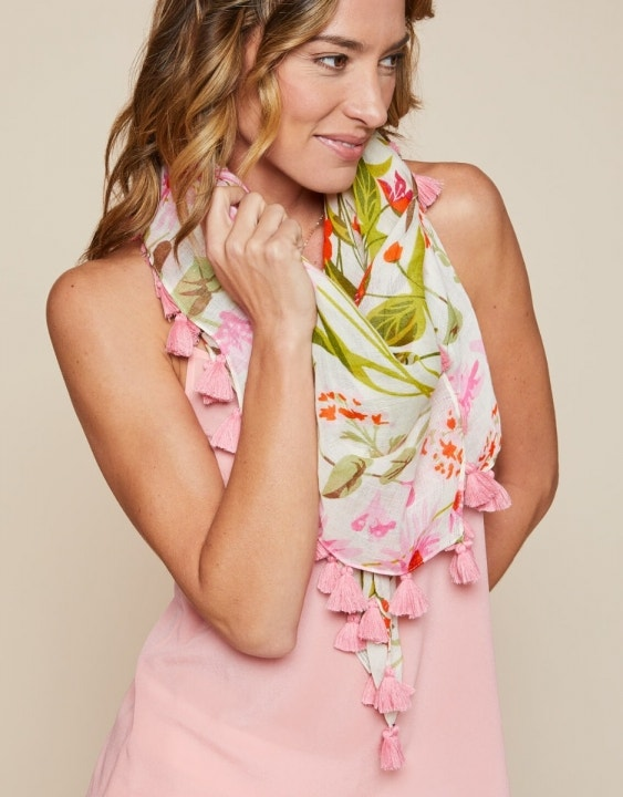 Audubon Wildflower Large Square Scarf