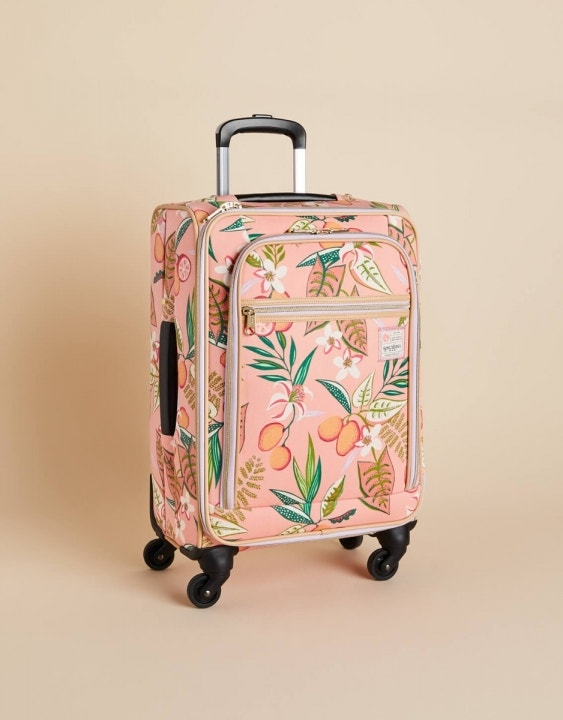 "Pink Lemonade 20"" Rolling Suitcase"