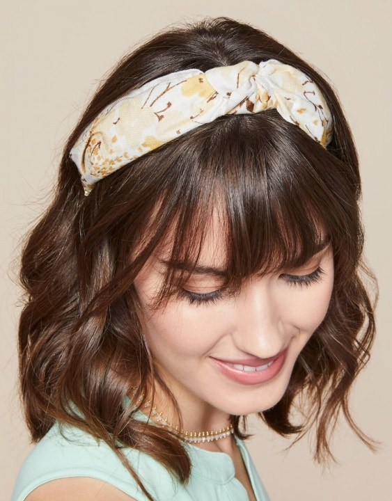 Salt Marsh Floral Knot Headband