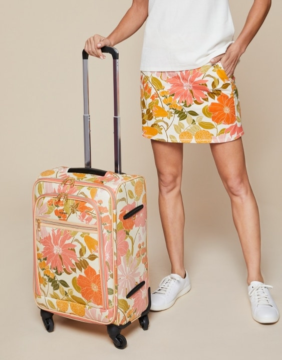 """Honey Horn 20"""" Rolling Suitcase"""
