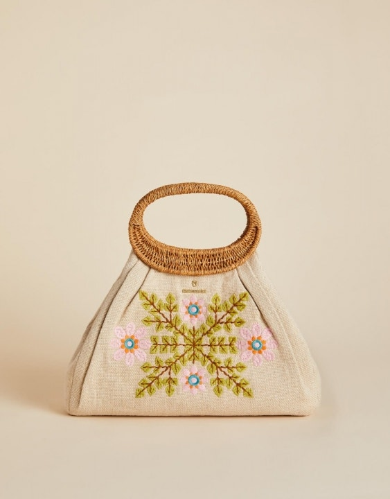 Honey Horn Mod Floral Mia Tote