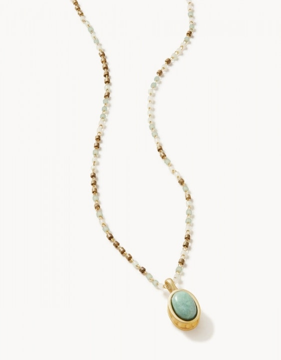 Naia Petite Beaded Necklace