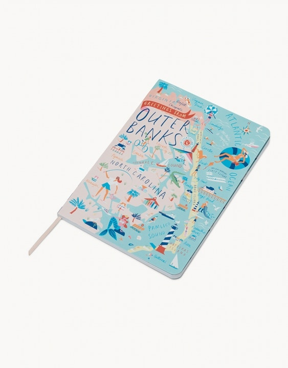 Outer Banks Ruled Notebook