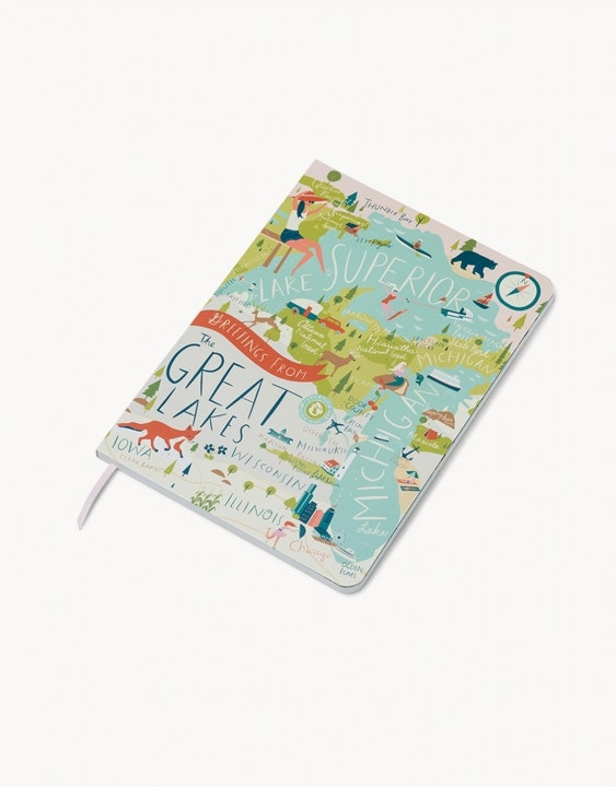 Great Lakes Ruled Notebook
