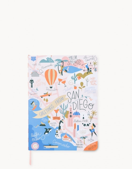 Southern California Ruled Notebook