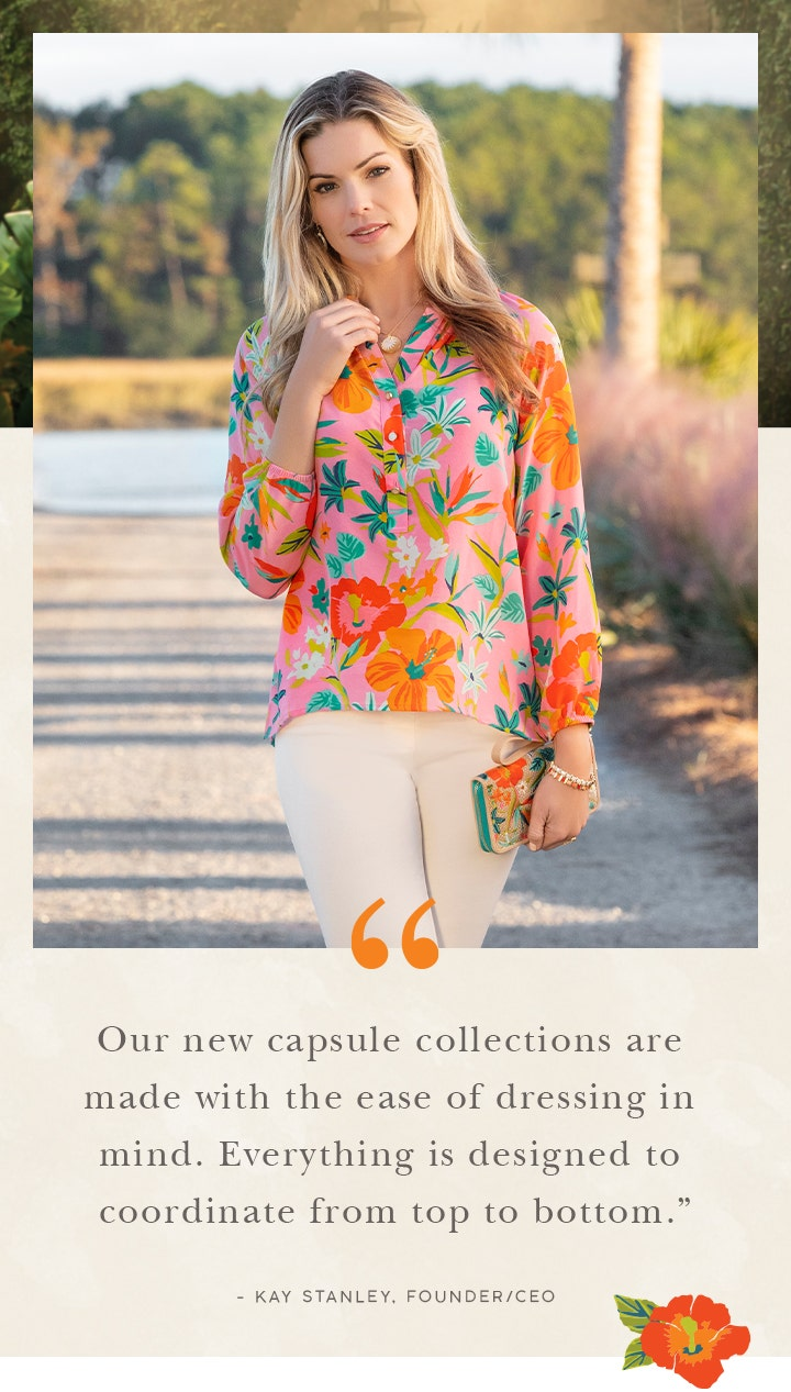 """Our new capsule collection..."