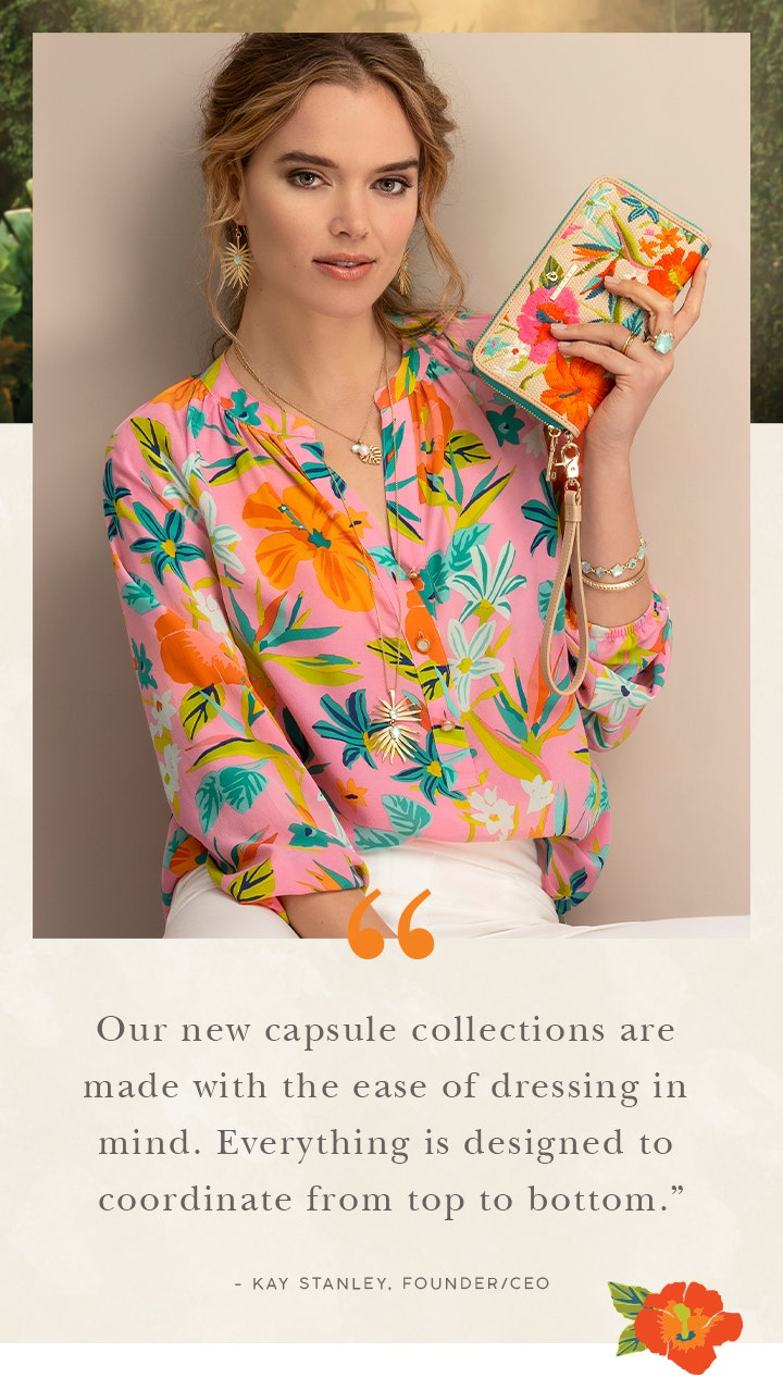 """""""Our new capsule collection..."""