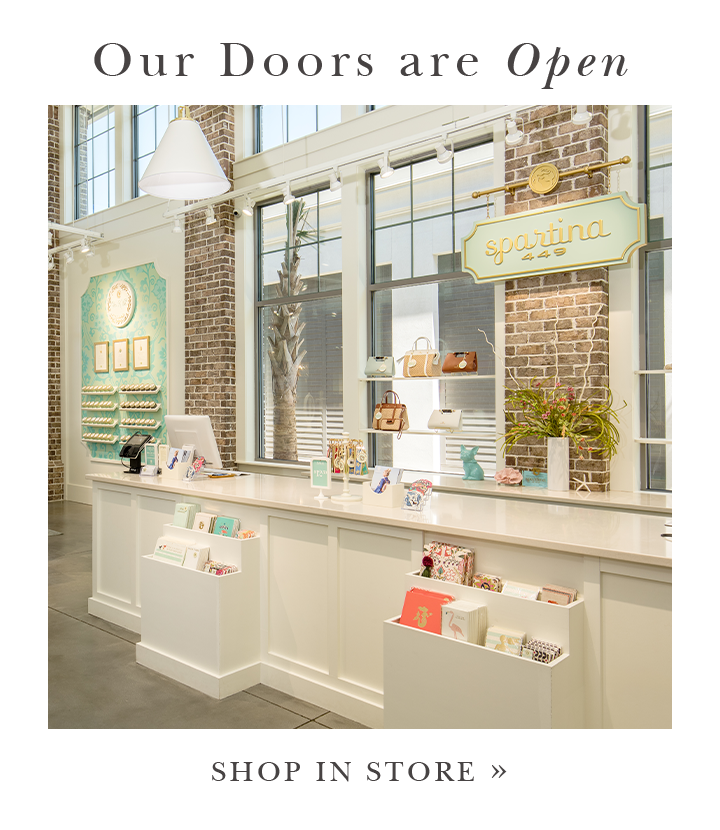 Our Doors are Open: Shop in Store